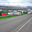 Stock Photo: Icelandic city street