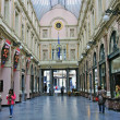 Stock Photo: Shopping arcade in Brussels