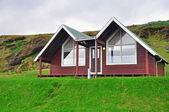 Icelandic houses — Stock Photo