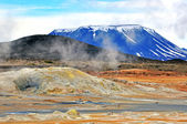 Icelandic mountains — Stock Photo