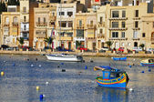 Maltese boats — Stockfoto
