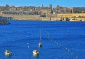 Valletta Panoraması — Stok fotoğraf