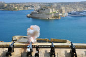 Attraction number 1 of Valletta — Stock Photo
