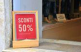 """Sale"" sign in italian language  — Stok fotoğraf"