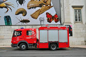 Fire truck of Lisbon, Portugal — Stock Photo
