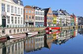 Beautiful Ghent, Belgium — Foto de Stock