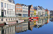 Beautiful Ghent, Belgium — Stock Photo