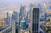 Panorama of Dubai, UAE — Stock Photo