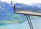Alp bakış açısı — Stok fotoğraf