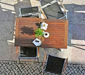 Mesa de café — Foto de Stock