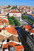 Restaradores square, Lisbon — Stock Photo