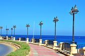 Malta seafront — Stock Photo