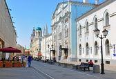 Moscow street — Stock Photo