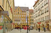 Shopping street in Munich, Germany — Stock Photo