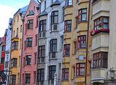 Houses of Innsbruck — Stock Photo