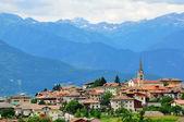 Small italian village — Stock Photo
