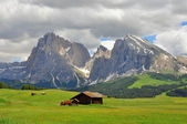 Mountains in Dolomites, Italy — Stock Photo