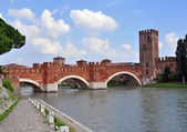Old bridge of Verona — Stock Photo