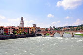 Old town of Verona — Stock Photo
