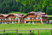 Tyrolean houses — Stock Photo