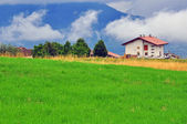 Rural house in Alps — Stock Photo