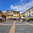 Town square on Sirmione, Italy — Stock Photo #50541305
