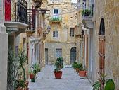 Traditional maltese patio — Foto de Stock