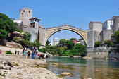 Mostar old town — Stock Photo