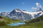 Dağ panorama — Stok fotoğraf