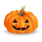 Halloween funny pumpkin — Stock Vector