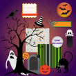 Halloween design elements — Stock Vector #32845681
