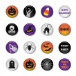 Halloween icons — Stock Vector #32845753