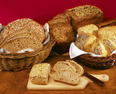 Whole grain bread — Stock Photo
