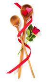 Love of fine cuisine — Stock Photo