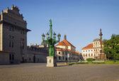 Prague Castle square — Stock Photo