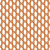 Seamless Wicker Pattern — Stock Vector