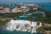 Niagara falls city view — Stock Photo