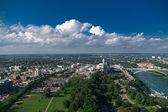 Niagara falls city šířku zobrazení — Stock fotografie