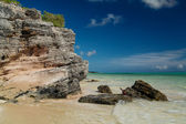 Great view of natural caribbean tropical landscape — Stock Photo