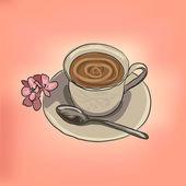 杯咖啡 — 图库矢量图片
