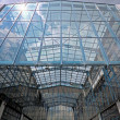 Glass building, industrial use - Stock Photo