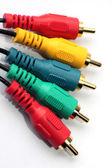 Audio kabel — Stockfoto