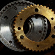 Cog wheels — Stock Photo