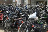 Bici in città — Foto Stock