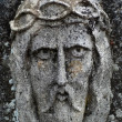 The face of Jesus-Christus — Stock Photo