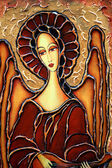 Painted angel — Stockfoto