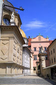 Wawel Castle and catedral in Krakow Poland — Stok fotoğraf