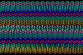 Colourful golf lines — Photo