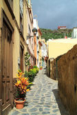 Street on Canary island La Palma — Stock Photo