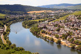 The moezel river in Germany — Stock Photo
